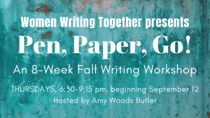 Story Scribe Workshop fall 2019