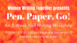 Women Writing Together workshop Fall 2019