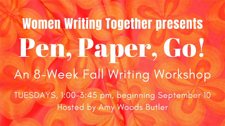 Women Writing Together workshop Fall 2019