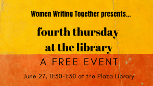 women writing together june 27 2019